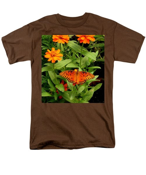 Orange Creatures Men's T-Shirt  (Regular Fit) by Rodney Lee Williams