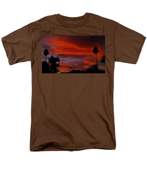Orange Sky Men's T-Shirt  (Regular Fit)