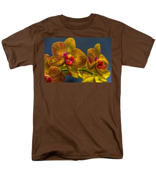 Orchid Color Men's T-Shirt  (Regular Fit) by Marvin Spates