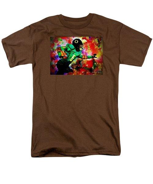 Oregon Football 3 Men's T-Shirt  (Regular Fit) by Michael Cross
