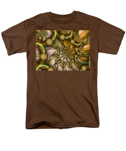 Men's T-Shirt  (Regular Fit) featuring the digital art Organic Playground by Gabiw Art