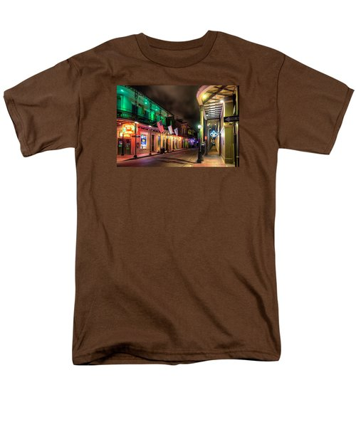 Orleans And Bourbon Men's T-Shirt  (Regular Fit) by Tim Stanley
