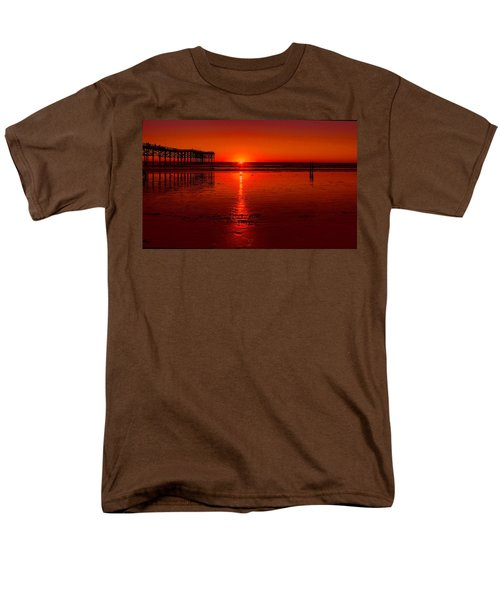 Pacific Beach Sunset Men's T-Shirt  (Regular Fit) by Tammy Espino