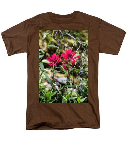 Paintbrush Men's T-Shirt  (Regular Fit)