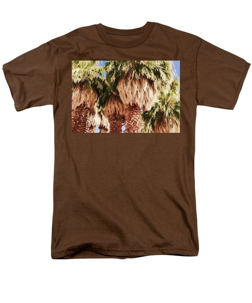 Palm Men's T-Shirt  (Regular Fit) by Muhie Kanawati