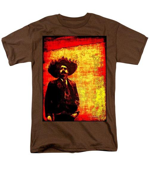 Pancho Villa Men's T-Shirt  (Regular Fit) by Joan  Minchak