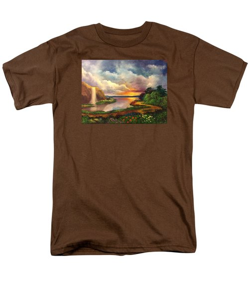Paradise And Beyond Men's T-Shirt  (Regular Fit) by Randy Burns