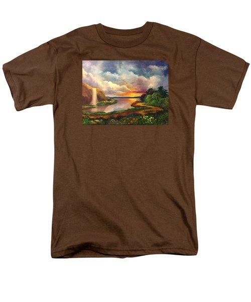 Paradise And Beyond Men's T-Shirt  (Regular Fit)