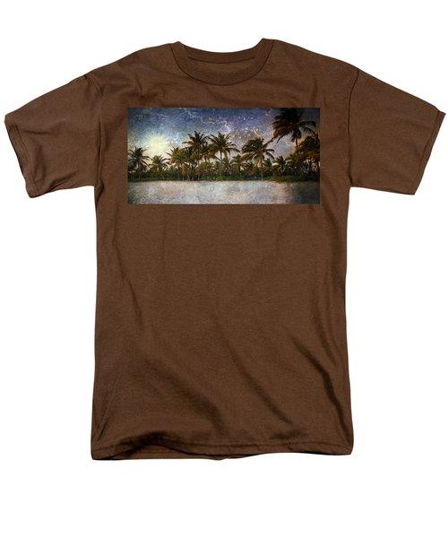 Paradise Found Men's T-Shirt  (Regular Fit) by Ellen Heaverlo