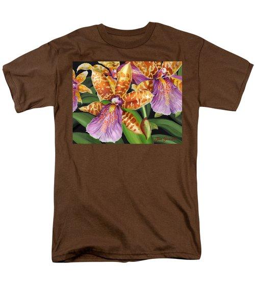 Paradise Orchid Men's T-Shirt  (Regular Fit)