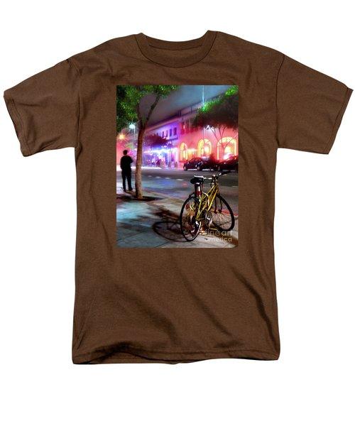 Men's T-Shirt  (Regular Fit) featuring the photograph Paris In Santa Monica by Jennie Breeze