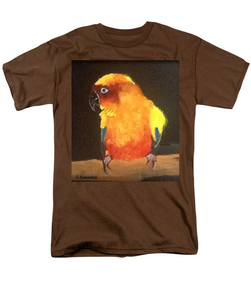 Parrot Men's T-Shirt  (Regular Fit) by Catherine Swerediuk