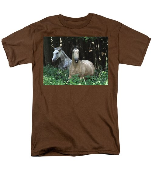 Paso Fino Mares Pay Attention Men's T-Shirt  (Regular Fit) by Patricia Keller