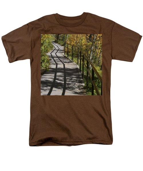 Path Shadow Men's T-Shirt  (Regular Fit) by Cheryl Miller