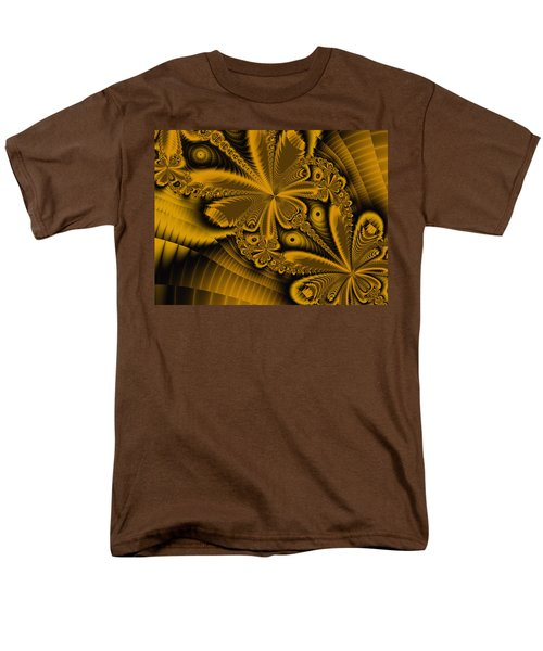 Men's T-Shirt  (Regular Fit) featuring the digital art Paths Of Possibility by Elizabeth McTaggart