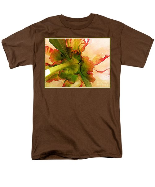 Peony Flirt Men's T-Shirt  (Regular Fit) by Jolanta Anna Karolska