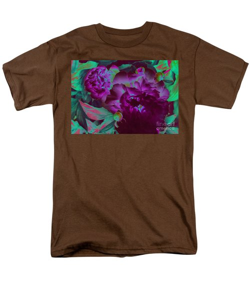 Peony Passion Men's T-Shirt  (Regular Fit) by First Star Art