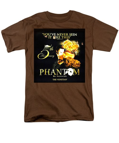 Phantom At The Venetian Men's T-Shirt  (Regular Fit) by Natalie Ortiz