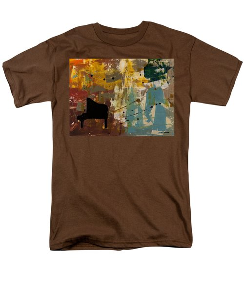 Piano Concerto Men's T-Shirt  (Regular Fit) by Carmen Guedez