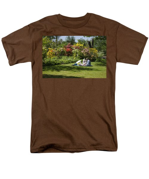 Summer Picnic Men's T-Shirt  (Regular Fit) by Spikey Mouse Photography