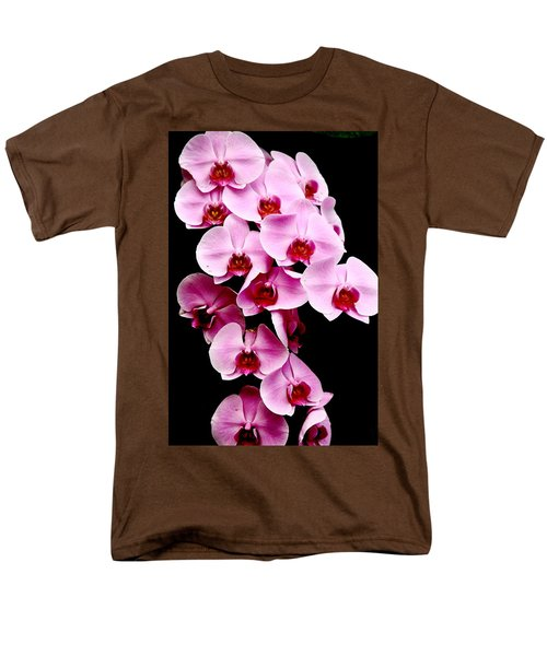 Pink Orchid Men's T-Shirt  (Regular Fit) by Menachem Ganon