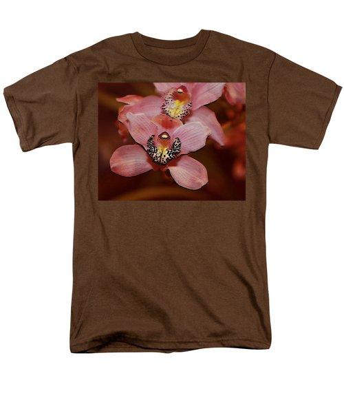 Pink Orchid Men's T-Shirt  (Regular Fit) by Mustafa Abdullah