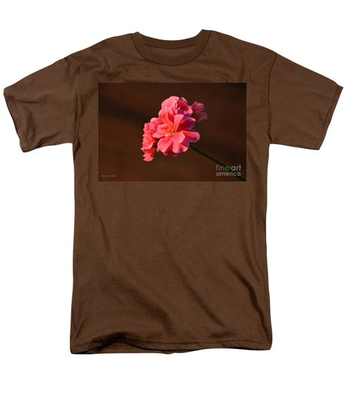 Men's T-Shirt  (Regular Fit) featuring the photograph Pink by Ramona Matei