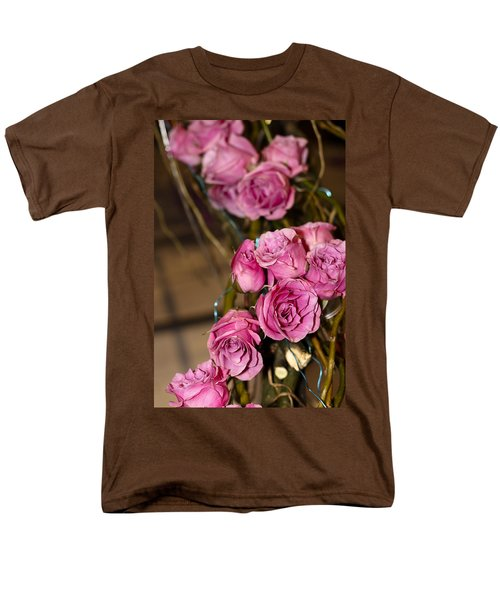 Pink Roses Men's T-Shirt  (Regular Fit) by Patrice Zinck