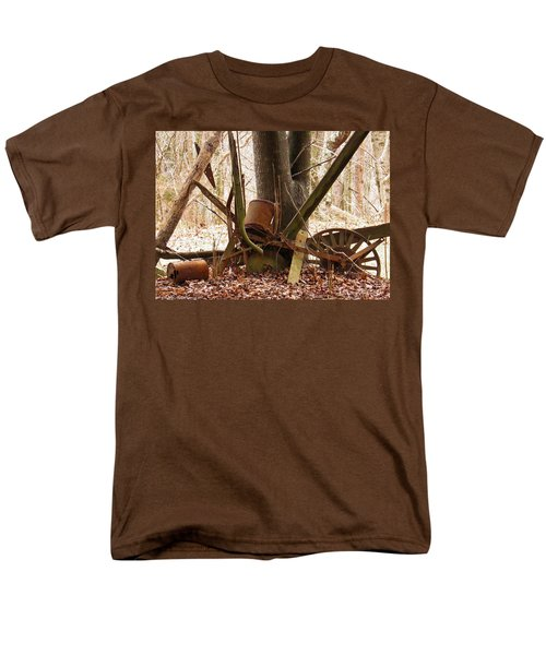 Men's T-Shirt  (Regular Fit) featuring the photograph Planted Planter by Nick Kirby
