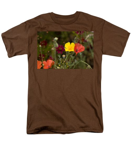 Poppy Love Men's T-Shirt  (Regular Fit) by Mark Greenberg