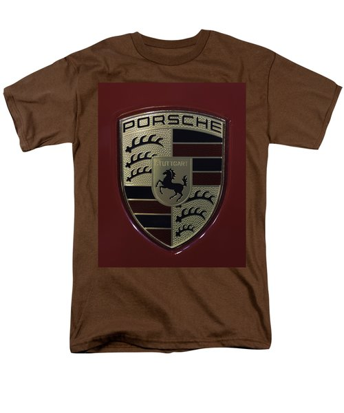 Porsche Emblem Men's T-Shirt  (Regular Fit) by Sebastian Musial