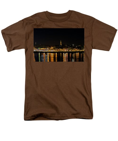 Port Lights Men's T-Shirt  (Regular Fit) by James  Meyer