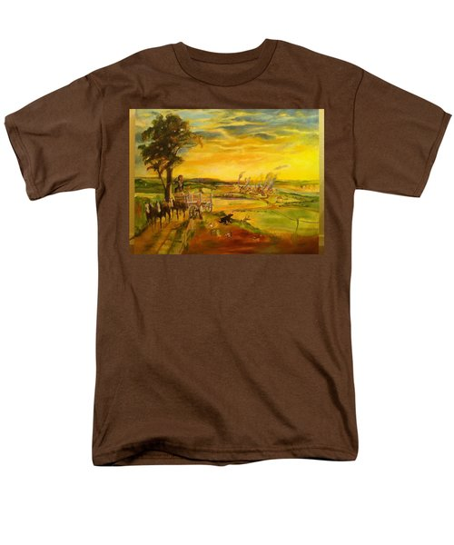 Pose2 Men's T-Shirt  (Regular Fit) by Mary Ellen Anderson
