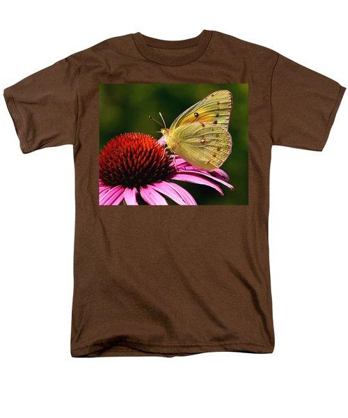 Pretty As A Butterfly Men's T-Shirt  (Regular Fit) by Roger Becker
