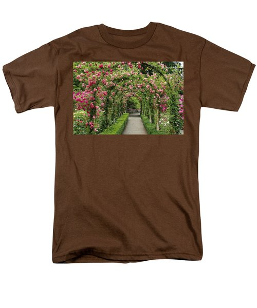 Rose Promenade   Men's T-Shirt  (Regular Fit) by Natalie Ortiz