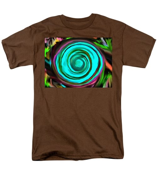 Men's T-Shirt  (Regular Fit) featuring the digital art Pulled by Catherine Lott