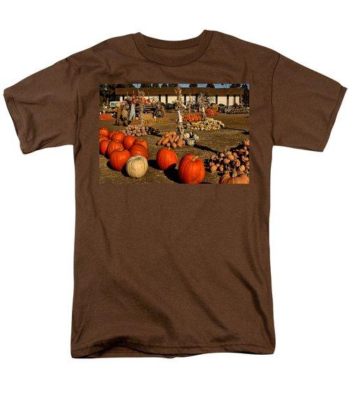 Men's T-Shirt  (Regular Fit) featuring the photograph Pumpkins by Michael Gordon