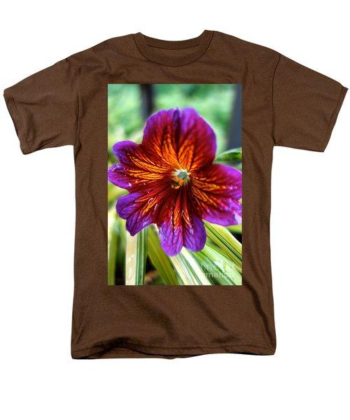 Purple And Orange Men's T-Shirt  (Regular Fit) by Jacqueline Athmann