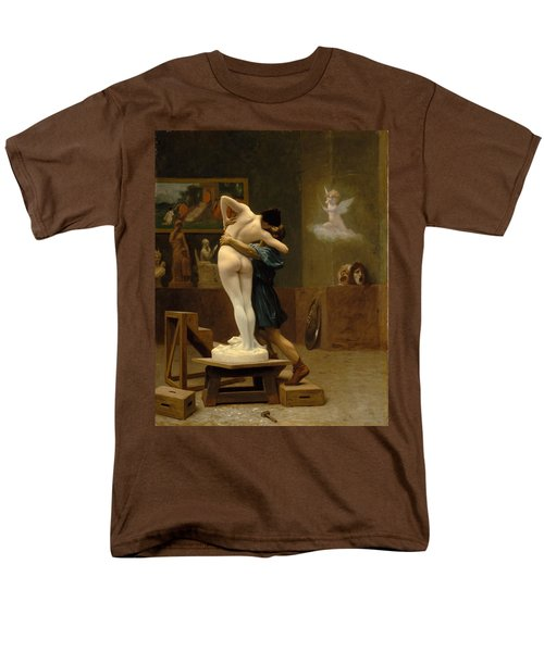 Pygmalion And Galatea Men's T-Shirt  (Regular Fit) by Jean-Leon Gerome