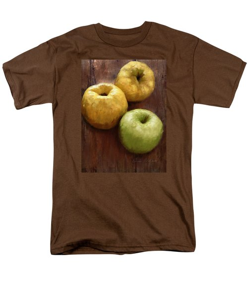 Quince And Apple Still Life Men's T-Shirt  (Regular Fit) by Enzie Shahmiri