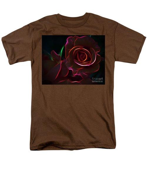 Radiant Rose  Men's T-Shirt  (Regular Fit)