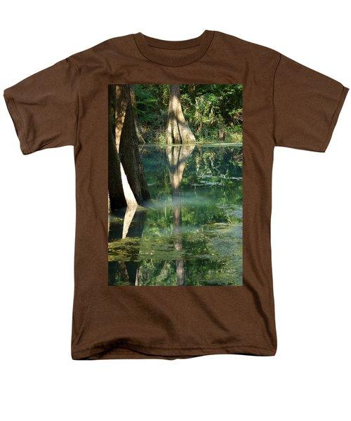 Radium Springs Creek In The Summertime Men's T-Shirt  (Regular Fit) by Kim Pate