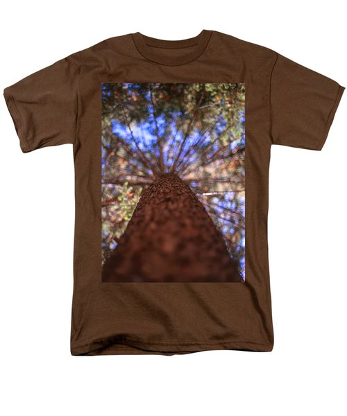 Men's T-Shirt  (Regular Fit) featuring the photograph Rainbow Pine by Aaron Aldrich