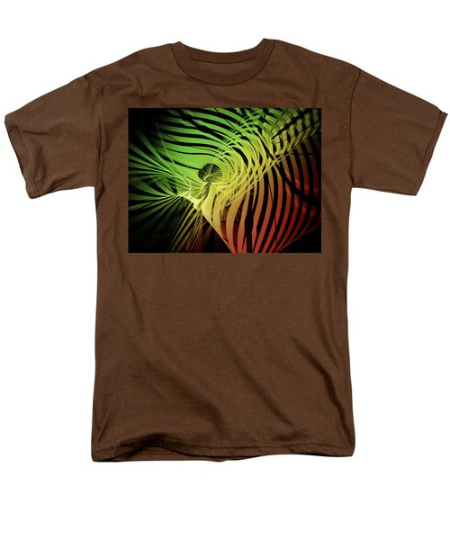 Rainbow Ribs Men's T-Shirt  (Regular Fit) by Richard J Cassato