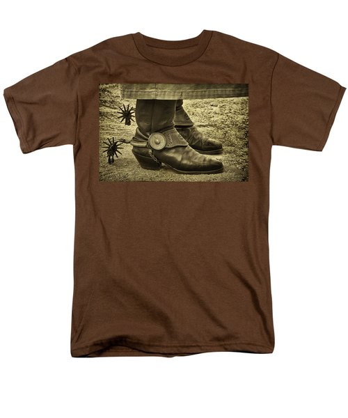 Men's T-Shirt  (Regular Fit) featuring the photograph Ready To Ride by Priscilla Burgers