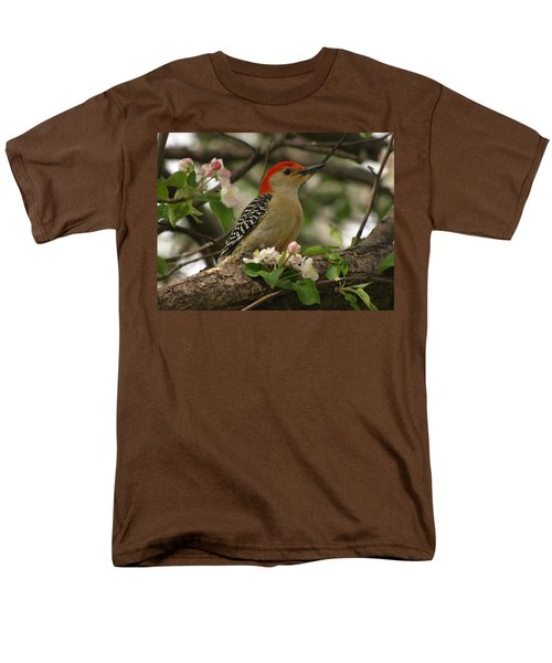 Men's T-Shirt  (Regular Fit) featuring the photograph Red-bellied Woodpecker by James Peterson