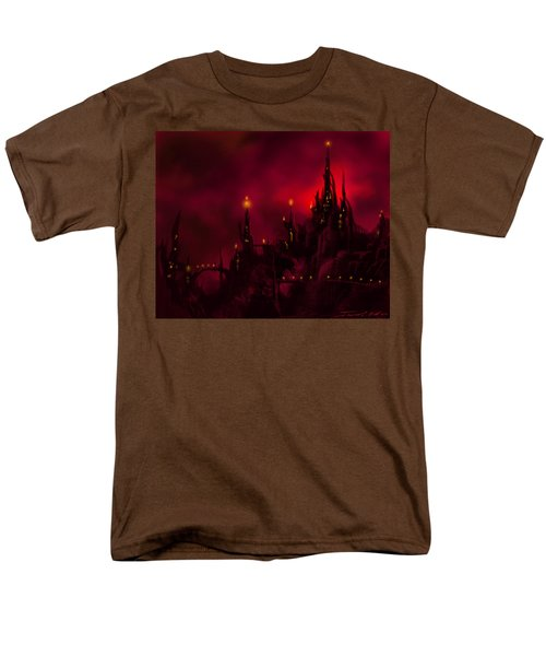 Red Castle Men's T-Shirt  (Regular Fit) by James Christopher Hill