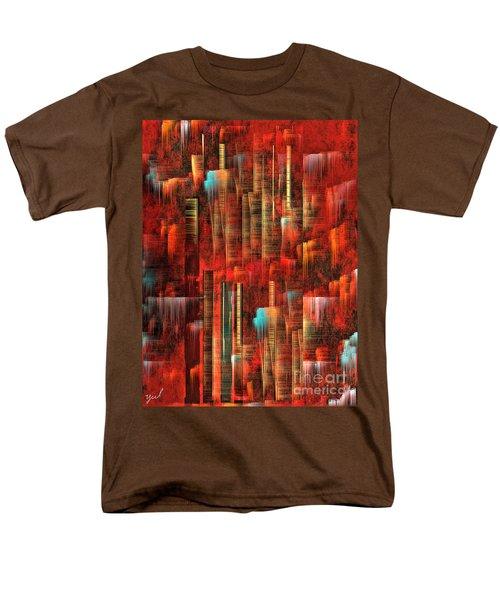 Concrete Jungle Men's T-Shirt  (Regular Fit) by Yul Olaivar