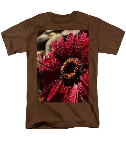 Men's T-Shirt  (Regular Fit) featuring the photograph Red Dew by Joe Schofield