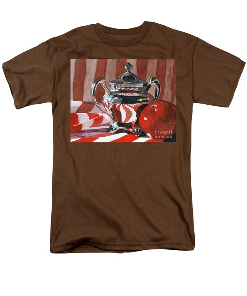 Red In Silver Men's T-Shirt  (Regular Fit) by Lynne Reichhart